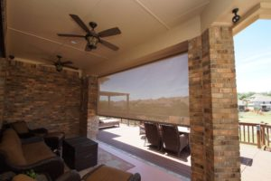 Custom exterior shades in Austin for an outdoor sanctuary!