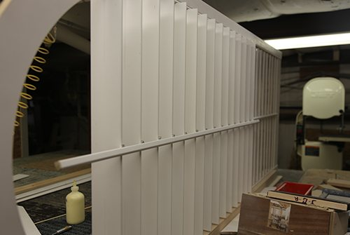 Shutter in manufacturing facility